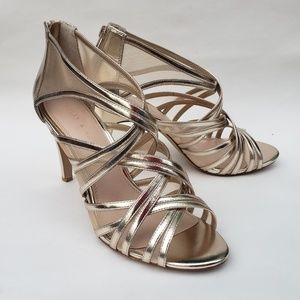 03790ea91004 Kelly and Katie Sareri Metallic Sandals 10